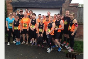 Newent Runners at Tewkesbury AC Guy Fawkes 5