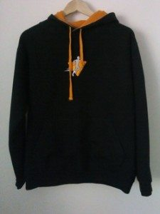 Newent Runners Black Hoody Front