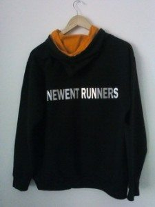 Newent Runners Black Hoody Rear