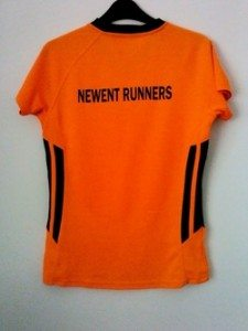 Newent Runners Shirt Rear