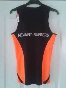 Newent Runners Vest Rear