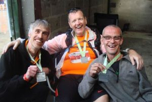 John, Jonathan and Mark at Race to the Stones